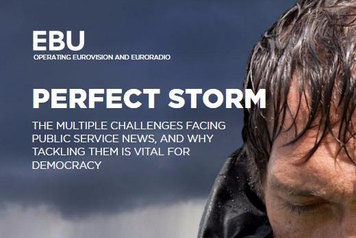 """Izvještaj EBU: Javni servisi za informisanje suočavaju se sa """"savršenom olujom"""""""