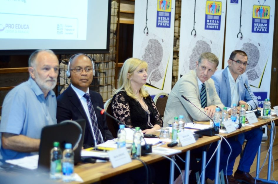Oslobođenje: Novinari i građani u odbrani ljudskih prava