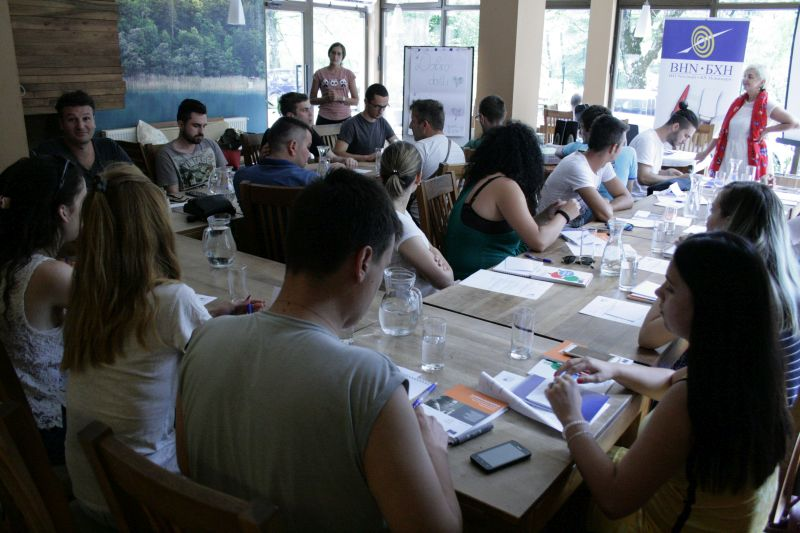 Drugi modul Novinarske akademije 2017 okupio 23 sudionika/ce na Boračkom jezeru