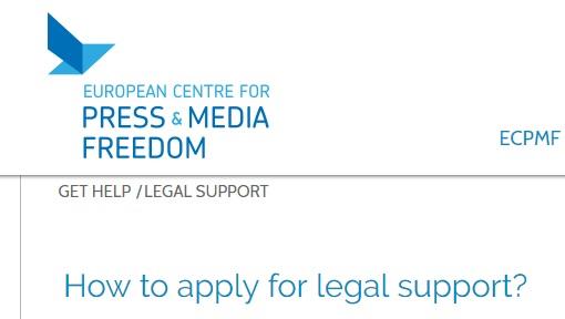 ECPMF nudi pravnu pomoć novinarima koji rade u Evropi