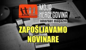 """Portal """"Moja Hercegovina"""" zapošljava!"""