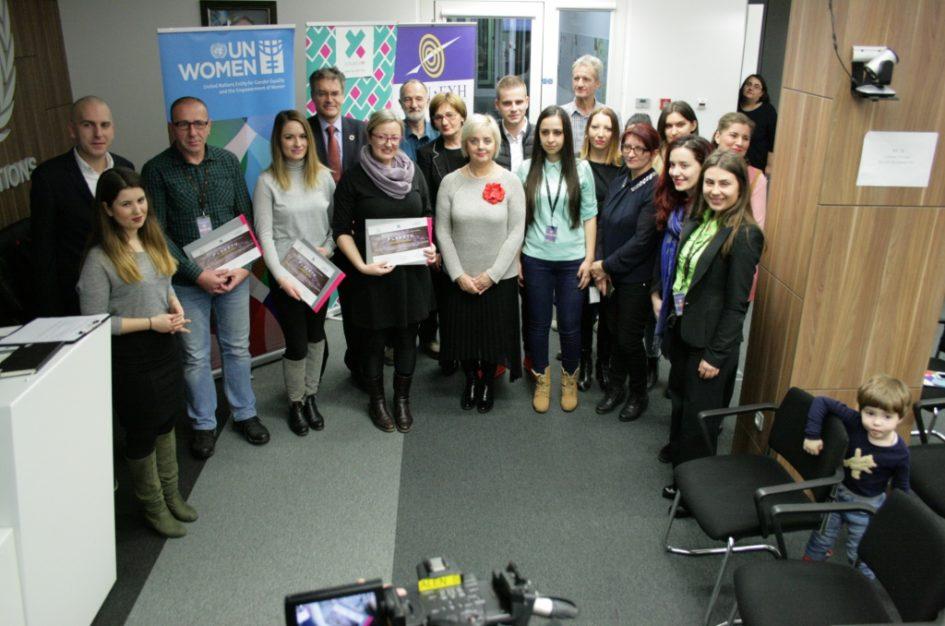 U Sarajevu dodijeljene novinarske nagrade za izvještavanje o temi rodno zasnovanog nasilja