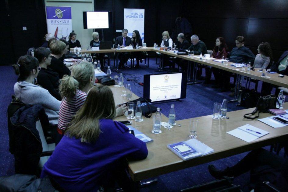 Novinari i novinarke posvećeni profesionalnom izvještavanju o rodno zasnovanom nasilju