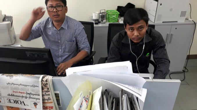 Optužnica protiv novinara  Reutersa u Myanmaru