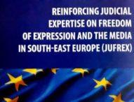 NAJAVA: Završna konferencija projekta Vijeća Evrope – Jačanje pravosudne ekspertize o slobodi govora u medijima Jugoistočne Evrope (JUFREX)