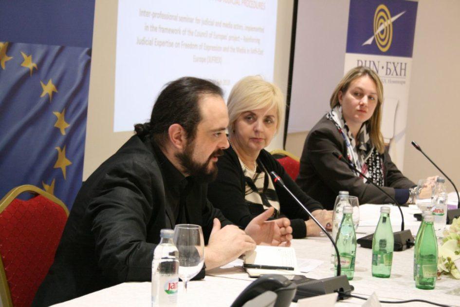 Nezavisan pravosudni sistem neophodan za efikasne istrage krivičnih djela protiv novinara