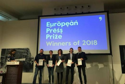Dragan Bursać dobitnik nagrade European Press Prize 2018