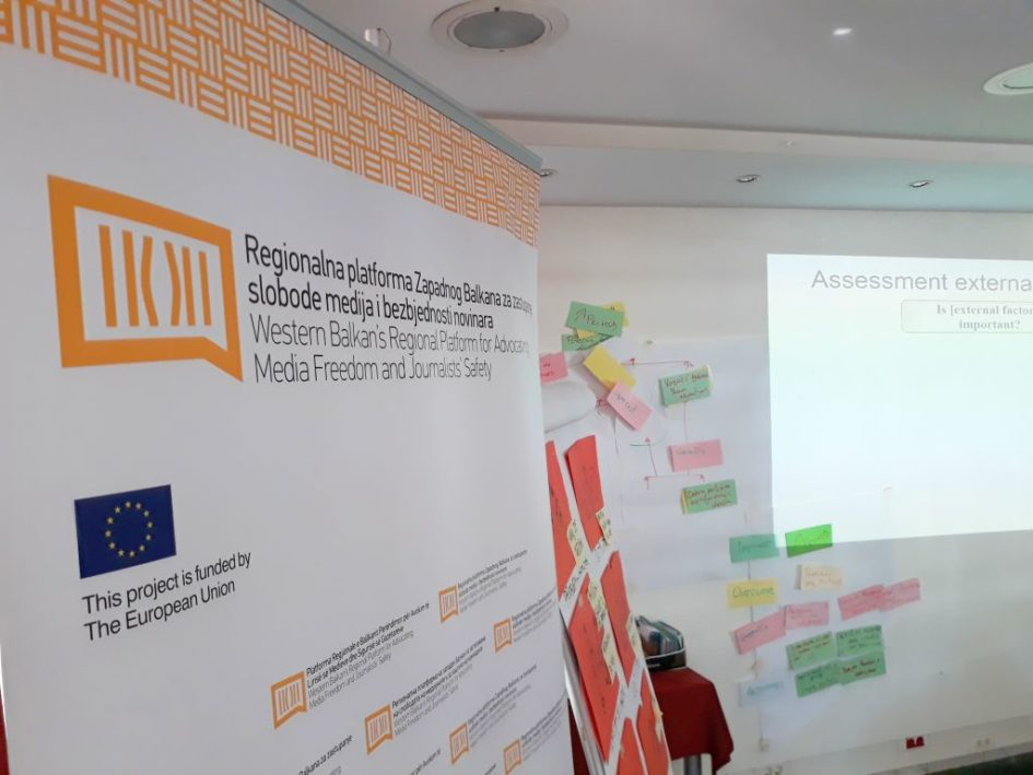 Predstavnici medijskih organizacija Zapadnog Balkana na obuci u Sarajevu