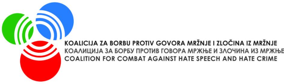 Koalicija za borbu protiv govora mržnje i zločina iz mržnje: Osuda napada na LGBTI aktivistkinju