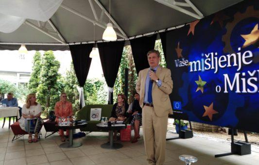 Wigemark sa bh. građanima: Ova zemlja se mora promijeniti, bez obzira na članstvo u EU