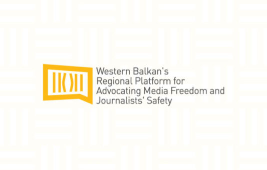 Regional Platform: Goverment of Serbia must support professional journalists, not limit them