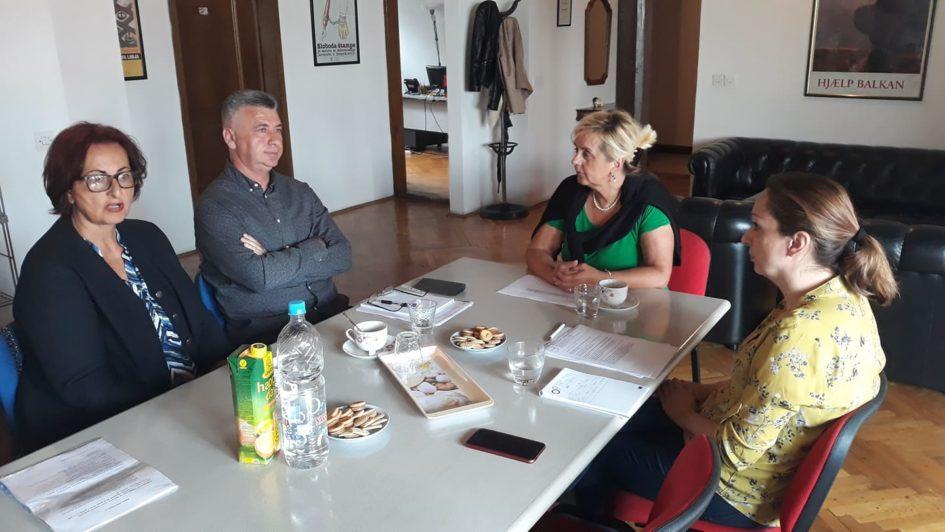 Predstavnici Donorske mreže BiH posjetili Udruženje BH novinari