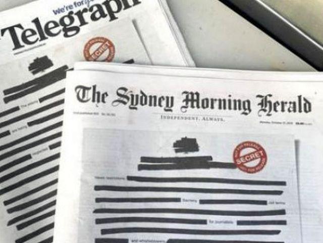 Australija: Velika kampanja za zaštitu medija