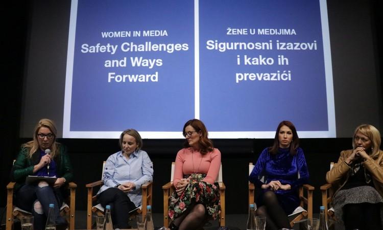 Podrška OSCE-a novinarkama da se oglase o nasilju u svom radu