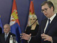 Vučić: Moje zdravlje nema veze s pitanjima N1