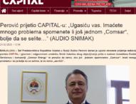 BH novinari najoštrije osuđuju prijetnje Duška Perovića redakciji portala Capital