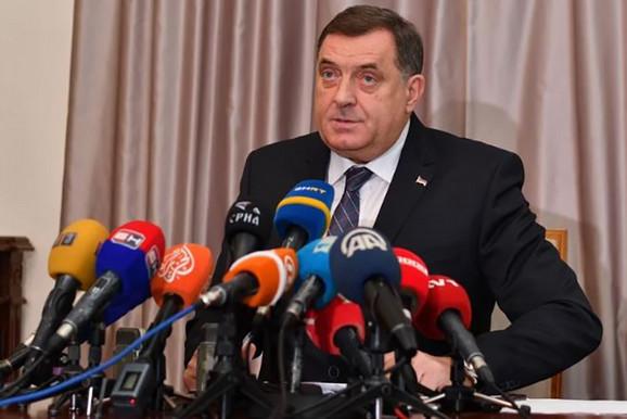 UO BHN: Osuda političkih prijetnji Milorada Dodika portalu Klix.ba