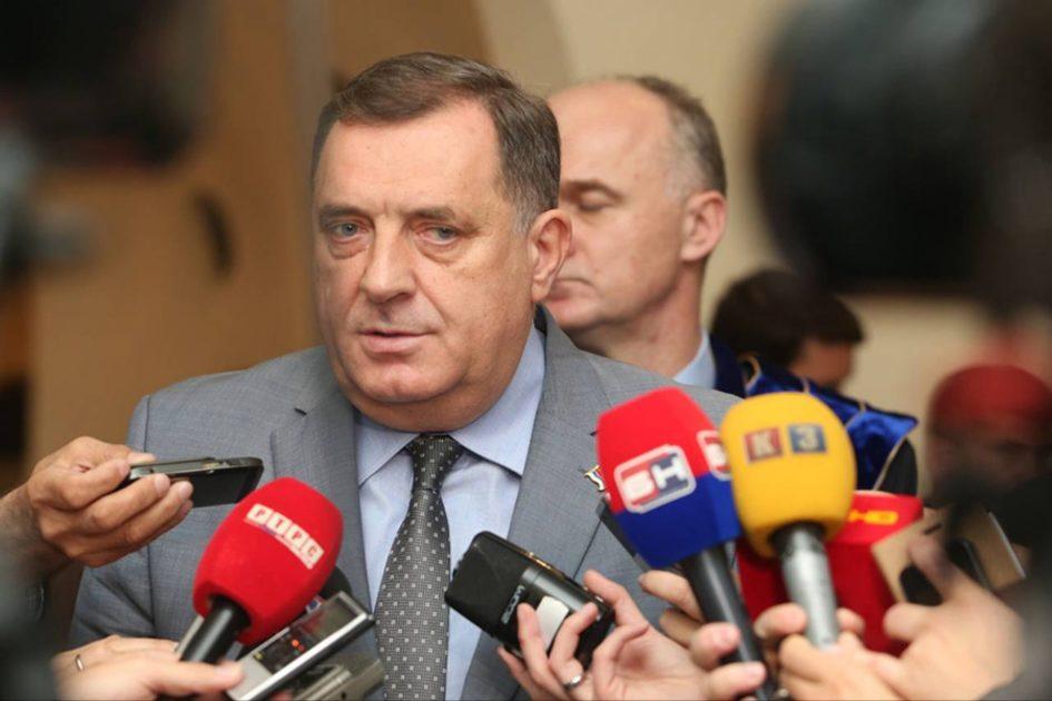 BH Journalists: Public protest to Milorad Dodik over verbal assault on journalist Kovacevic