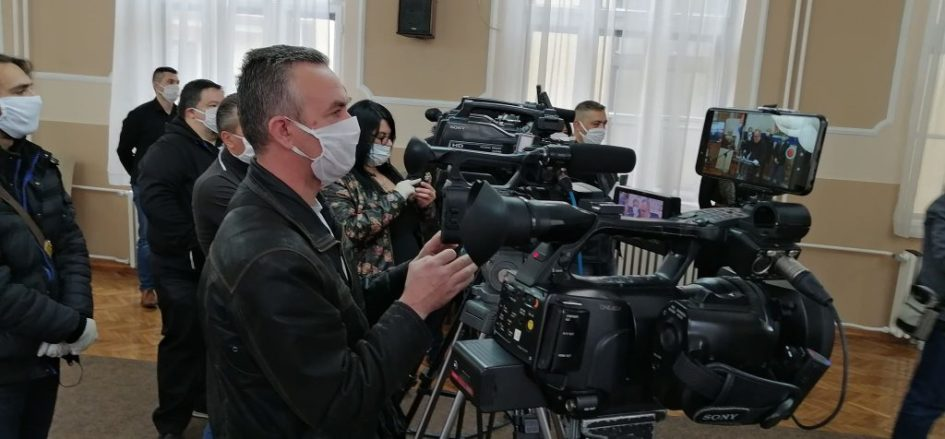 Prevent Group donates 400 protective masks to media outlets in BiH