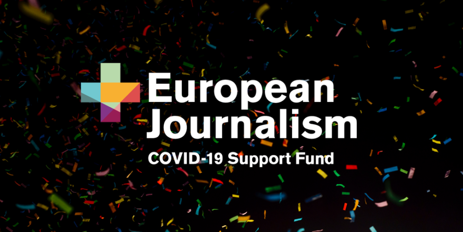 European Journalism COVID-19 Support Fund supported 68 more news organisations and freelancers
