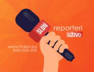BH novinari: Javni protest MUP-u TK zbog nezakonitog postupanja prema ekipi RTV Slon