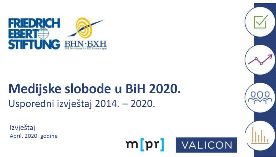Medijske slobode u BiH 2020 FES i BHN