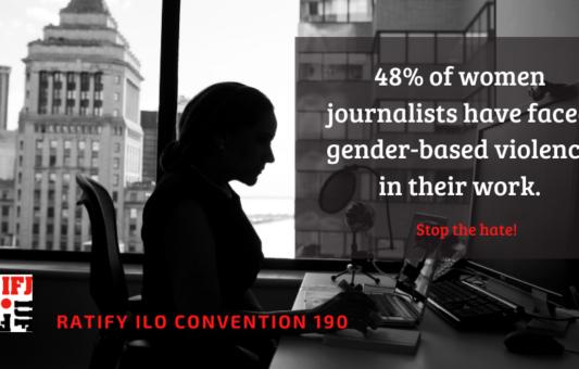 IFJ poziva vlade širom svijeta  i društvene mreže na zaustavljanje rodno zasnovanog nasilja