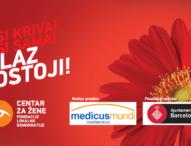 """Najava: Predstavljanje rezultata programa """"Za život bez nasilja u Kantonu Sarajevo"""""""