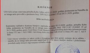 The KS Prosecutor's Office accepted the appeal of Adi Kebo for not conducting an investigation against Cesir