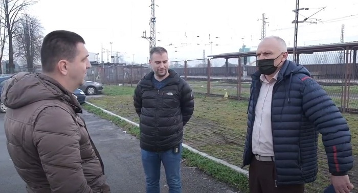 BH Journalists: Public protest to the Railways of RS administration over threats to media crew in Banja Luka