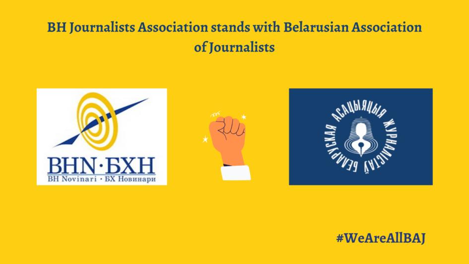 EFJ apeluje na evropske vlade: Zaustavite represiju nad novinarima u Bjelorusiji!