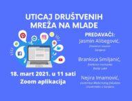 Radionica za studente novinarstva: Uticaj društvenih mreža na mlade