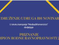 Portal Radio Sarajevo i novinarka Vanja Stokić – šampioni rodne ravnopravnosti u BiH za 2021