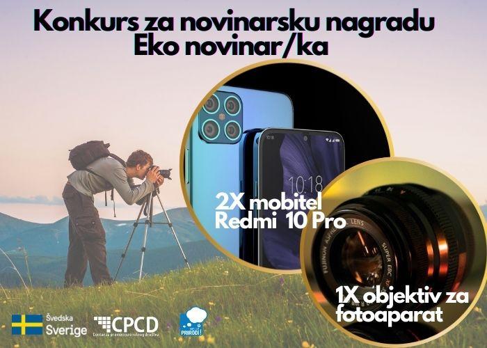 """Konkurs za novinarsku nagradu """"Eko novinar/ka"""""""