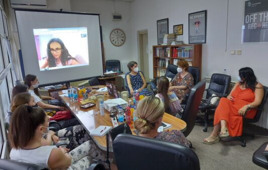 eTrafika: Improving the capacity of online media through the education of young journalists